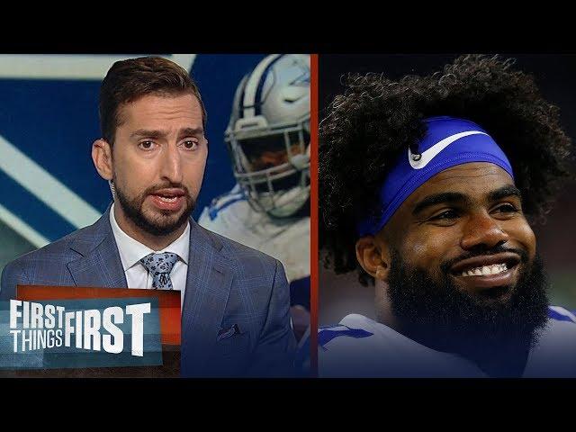 Ezekiel Elliott, Cowboys agree to 6-yr/$90M extension - Cris & Nick react | NFL | FIRST THINGS FIRST