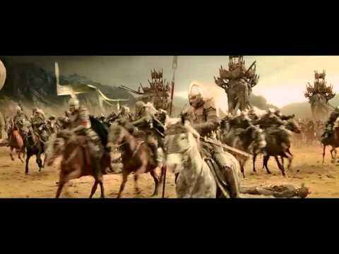 Lord of the Rings Rohan vs Harad : Battle of the Pelennor Fields