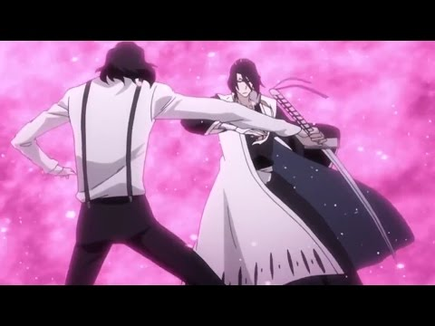 Shukuro Tsukishima vs Byakuya Kuchiki Full Fight Eng Dub