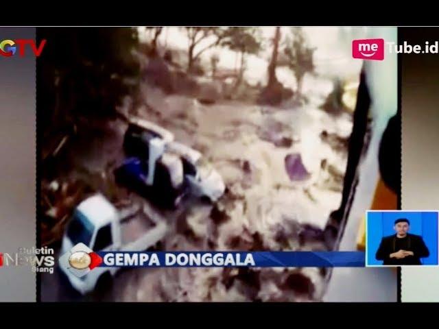 Kumpulan Video Detik-detik Gempa Palu Munculkan Tsunami - BIS 29/09