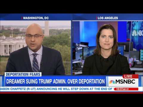 MSNBC LIVE  FIRST DREAMER DEPORTED AND SESSIONS SPOUTS BS   04 19 2017