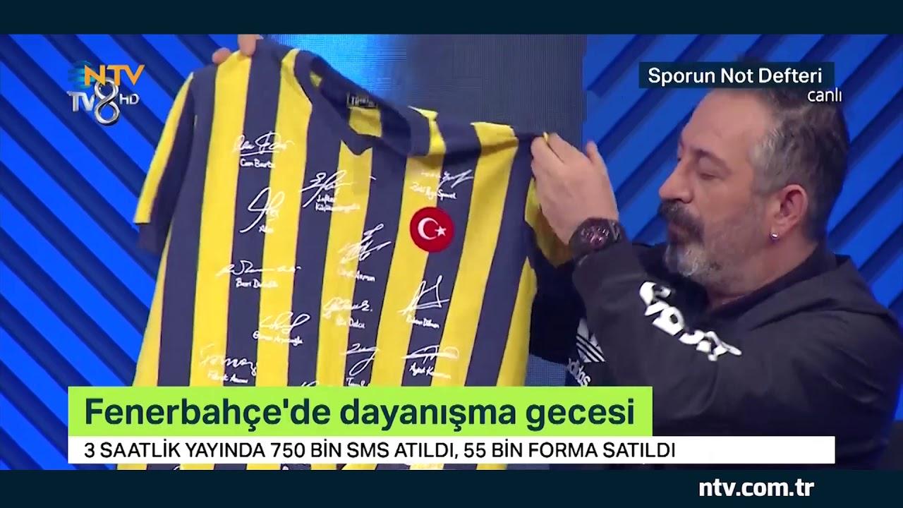 Fenerbahçe'de dayanışma gecesi