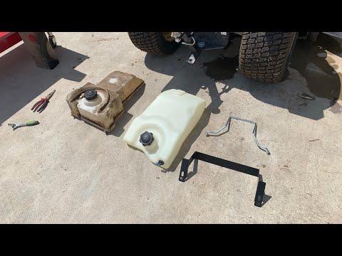 DIY Gas Tank Replacement John Deere L Series Kit