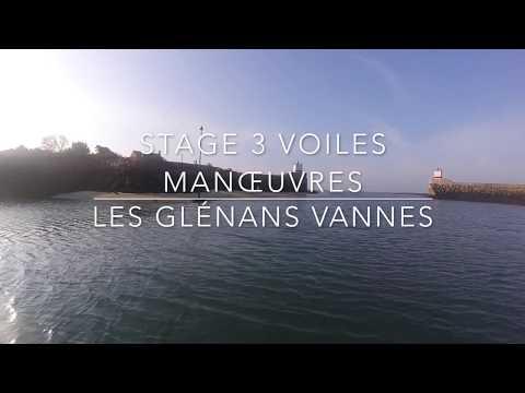 STAGE GLÉNANS - Niveau 3 voiles Manœuvres -  Vannes - Novembre 2017