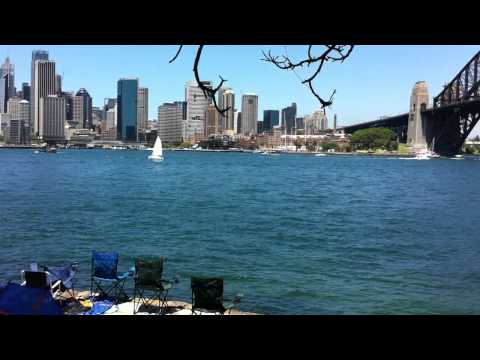 Dr Mary Booth Lookout, Kirribilli for the Sydney N...