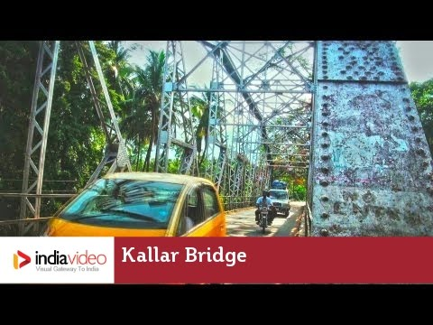 Bridge connecting Mettupalayam and Ooty in Tamilnadu