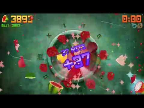 Fruit Ninja Arcade Mode World Record: 4055