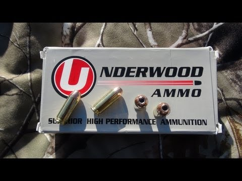 AMMO TEST: 10mm Underwood 200 gr Hornady XTP JHP