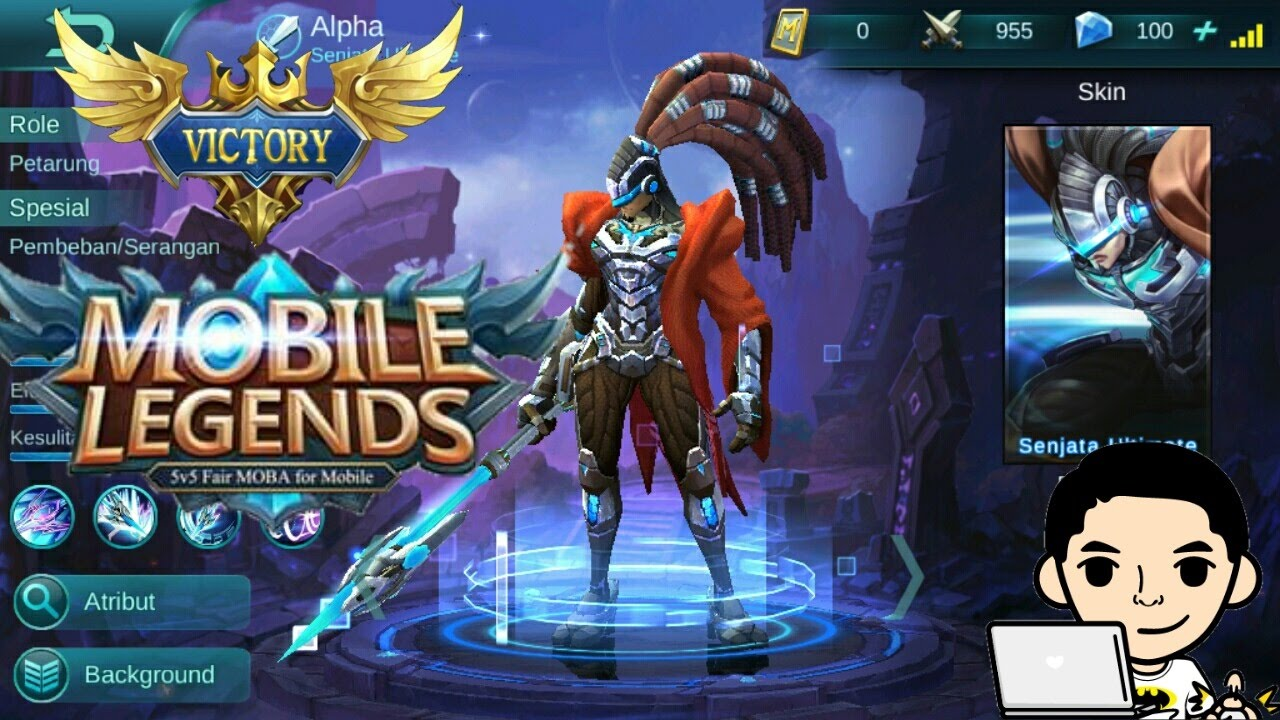 new update hero alpha + short review || mobile legend