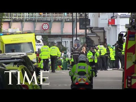 22 Injured In Explosion On London Subway Train