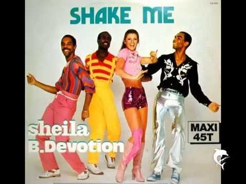 SHEILA B DEVOTION  SHAKE ME  12  1977