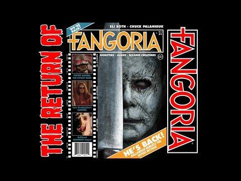 FANGORIA MAGAZINE : THE RETURN : VOLUME 2. ISSUE 1. OCTOBER 2018