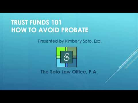 Trust Funds 101 Pt 8   Public Records