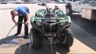 Tech Tip: Washing your quad.