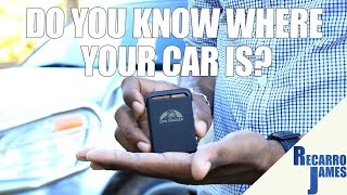 A low cost Car Tracker | Text Your Vehicle