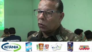 Capitão Josivaldo ministrou Palestra na Escola Lauro Rebouças