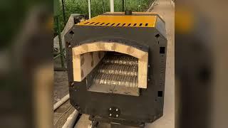 Отопление теплицы пеллетная горелка 500 кВт