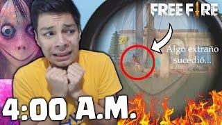 NUNCA JUEGUES FREE FIRE a las 4 A.M...