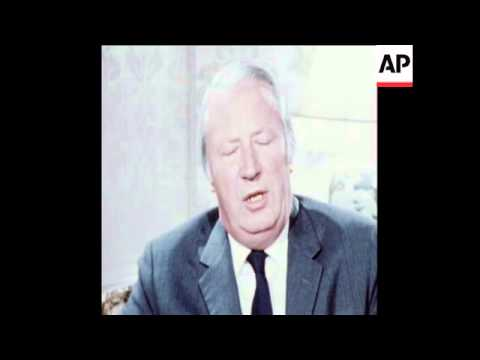 SYND 31-12-72 EDWARD HEATH, SPEAKS ON EVE OF BRITISH ENTRY INTO COMMON MARKET