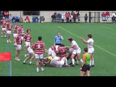 (WI-17') Collegiate Rugby - Wisconsin vs. Indiana (Full Match) 10/28/17