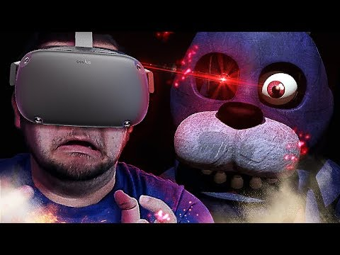 WHY AM I DOING THIS MYSELF?! I HATE THIS!! | Five Nights At Freddy's VR: Help Wanted W/Girlfriend