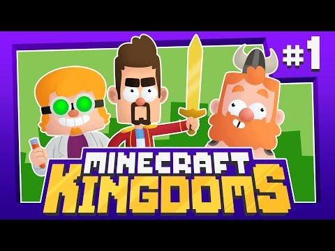 SAVE THE VILLAGE - Minecraft Kingdoms [#1] (New Survival Series!)