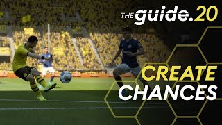 Top 5 Tips to score MORE GOALS in FIFA 20! How to attack and create chances tutorial | THE GUIDE