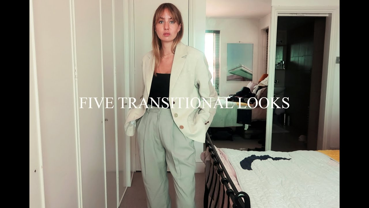 Five Transitional Outfits | Lizzy Hadfield 1