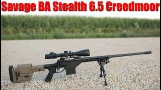 Savage BA Stealth 6.5 Creedmoor Review: Best Savage Yet?