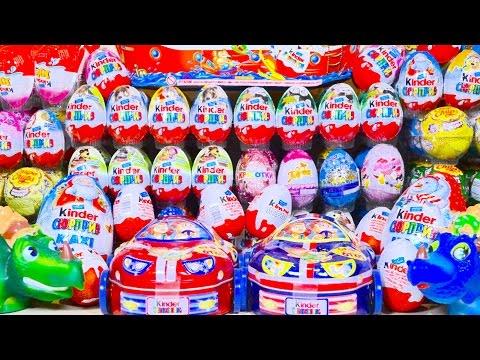 200 Киндер Сюрпризов Май Литл Пони Маша и Медведь Свинка Пеппа Принцессы Диснея Барби Машинки