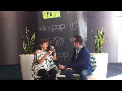 The Conversation Arena with Ben Starr - Oz Comic-Con Maggie Roswell