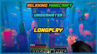Minecraft - Relaxing Underwater Build Longplay (Relax, Study, Sleep) [No Commentary]