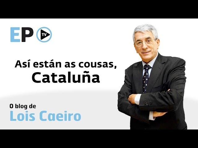 Lois Caeiro analiza no seu videoblog a actualidade en Cataluña