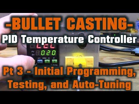 MYPIN PID Temperature Controller - Initial Programming, Testing, Auto-Tuning