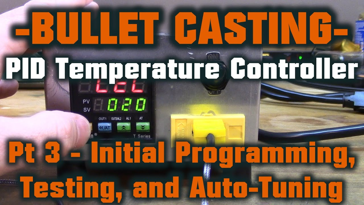 Mypin Pid Temperature Controller Initial Programming Testing Td4 Snr Ssr Wiring Diagram Auto Tuning
