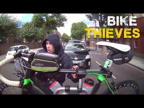 Bike Thieves Caught on Camera
