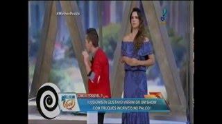 Baixar Ilusionista GUSTAVO VIERINI no Melhor pra Você - RedeTV (Hipnose + Mágica + Psicologia)
