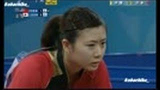【卓球】 福原愛  東アジア競技大会  卓球女子団体  vs中国  【決勝】  2013・10・09