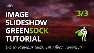 GreenSock البرنامج التعليمي - كيفية إنشاء صورة بسيطة عرض الشرائح - جزء 3