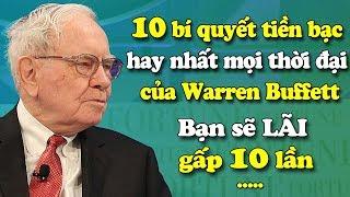 10 bí quyết tiền bạc hay nhất mọi thời đại của Warren Buffett | Tài chính 24H