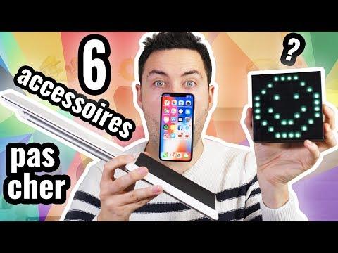 6 Objets Pas Cher pour iPhone X et Smartphone !