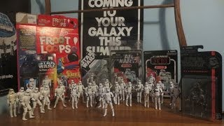 Stormtrooper 3 3/4 collection and review of the Black Series #13 Stormtrooper
