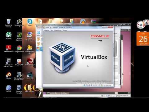 conectar ip de 3 máquinas virtuales linux y windows