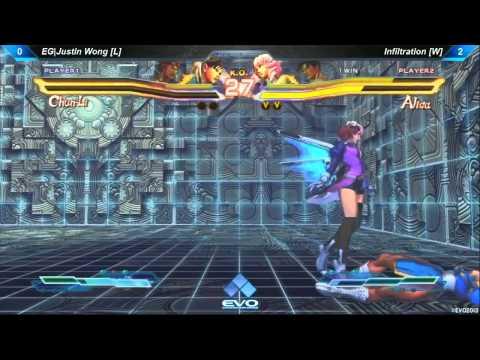 EVO 2013: Street Fighter X Tekken (SFxT) Grand Final: EG|Justin Wong vs Infiltration |