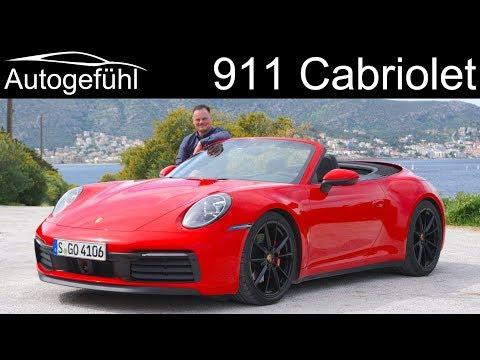 Porsche 911 Cabriolet FULL REVIEW all-new 992 Convertible - Autogefühl