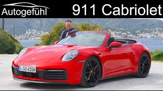Porsche 911 Cabriolet FULL REVIEW all-new 992 Convertible - Autogefühl