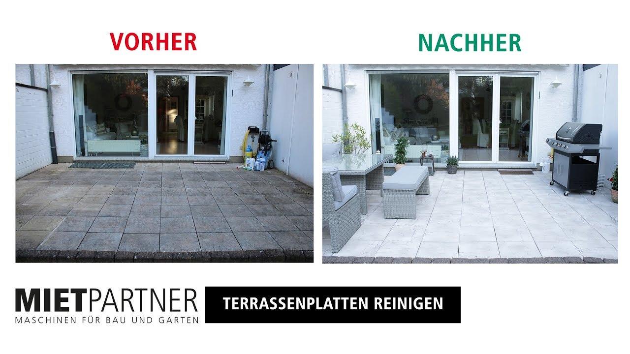 mit dem hochdruckreiniger terrasse reinigen und versiegeln mit mietpartner youtube. Black Bedroom Furniture Sets. Home Design Ideas