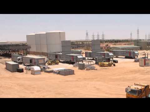 Installation of Fast-Track Mobile Power Plant in Samnu, Libya | APR Energy