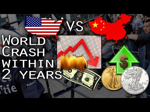 World Crash Within 2 Years: US Vs China in Gold/Silver - Eric Hadik Important Update on Markets