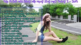 Top 15 ca khúc hay nhất Zing Mp3 2015